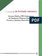 Proceso de Formado Mecanico