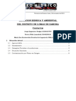 2015 - Informe Foro Hídrico - Causa Riachuelo