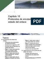 Cap 10 - Protocolo de Enrutamiento de Estado Del Enlace (Copia en Conflicto de Yerri Ruiz 2014-12-21)