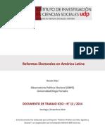 Reformas Electorales en América Latina