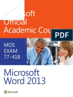 moac word2013 exam 77 418