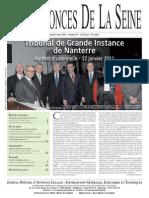 Edition Du Jeudi 3 Mars 2011