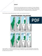 Analysis of 'Maps of Disappearing Palestinian Land'