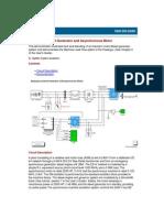 Help - Emergency Diesel-Generator and Asynchronous Motor