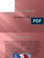 climate & weather in france