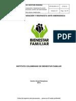 PP183.MPA1.P1 Plan Preparación y Respuesta Reg N Santander CZ Pamplona v2