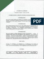 Acuerdo Unico de Movimiento de Personal (Onsec)