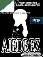 Mark Dvoretsky Secretos Del Entrenamiento en Ajedrez