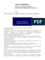 Guia Clinica Sepsis Severa y Shock