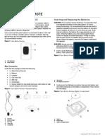 2GIG PANIC1 345 Installation Guide