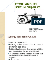 Tractor market analysis in Gujarat