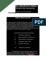 CURSO DE LINGU+ìSTICA GERAL - Sassure.doc
