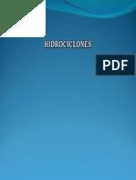 Presentación de Hidrociclones