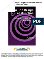 Pipeline Design And Construction A Practical Approach Pdf
