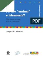 Letramento Angela Kleiman