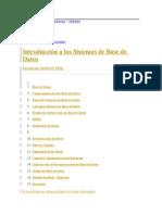 Intro a Las Base de Datos