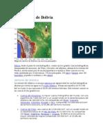 Hidrografía de Bolivia..
