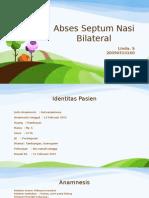 Abses Septum Nasi Bilateral