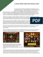 Mire Presentiamo La Demo Della Guide Of Ra Deluxe Gratis