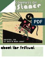 The Compass of Resistance International Film Festival Programme (2007)
