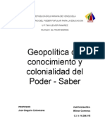 Geopolitica del conocimiento