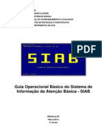 Guia OperSIacional Basico Do Siab [165 040412 SES MT]