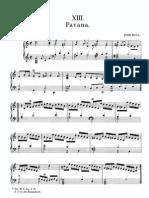 John Bull Trumpet Pavan Fvb i pp 62-64