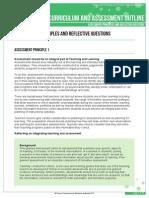 k-10 outline assess princ reflective questions v9