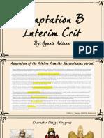 Adaptation B Interim Crit