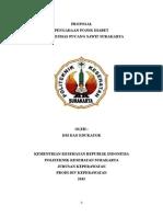 Pojok Diabet d Puskesmas-Proposal Kel.1