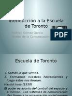 Introducción a La Escuela de Toronto (1)