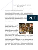 Estrategia de Desarrollo de Nuevos Mercados PDF
