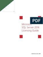 SQL Server 2014 Licensing Guide
