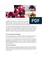 Las Uvas, Frutas Pequeñas Pero Poderosas