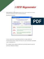 HDD Regenerator Es Una Programa
