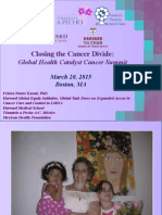 Closing the Cancer Divide