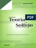 129151524 Metodo de Teoria Musical Elementar e Solfejo NOVO BONA CCB