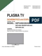 Lg Tv Plasma50PV450