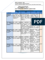 Rubrica de Evaluacion Momento 2 2015-1