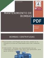 Mantenimiento de Bombas