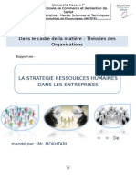 Rapport Stratégies RH