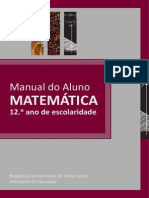 Matematica Manual do Aluno 12 ano Timor Leste