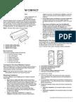 2GIG DW10 345 Install Guide