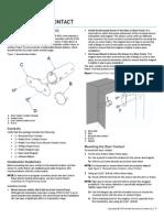 2GIG DW20R 345 Install Guide
