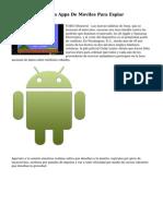EEUU Y GB Utilizan Apps De Moviles Para Espiar
