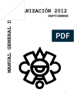Manual General de Organización INAH