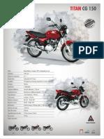 Manual de Motocicleta Honda CG150