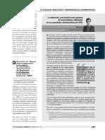 La abstención y recusación como garantía de imparcialidad y objetividad de las autoridades administrativas del OEFA