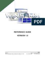 WINSAMM Program - English Manual