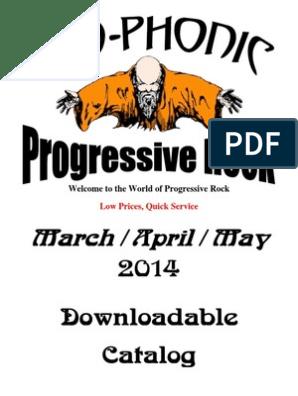 Catalogo Pregresivo Progressive Rock Albums